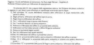 Anguillara, Scuola: Oggi, nuovo presidio organizzato dai genitori al villaggio scolastico di Via Duca degli Abruzzi, dopo la chiusura