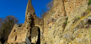 Canale Monterano: Al via il restauro di alcune strutture murarie presso l'antico Borgo di Monterano (RM)