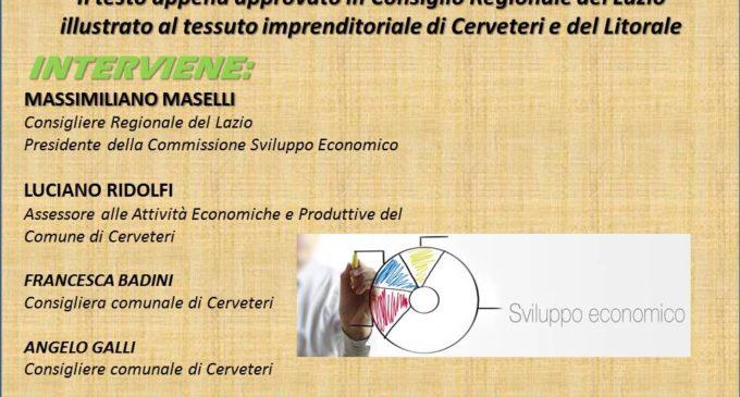 Cerveteri, al Granarone la presentazione del Testo Unico Regionale del Commercio