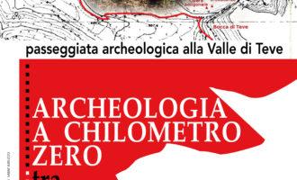 Passeggiata archeologica alla Valle di Teve  domenica 20 ottobre 2019, alle ore 10.00  appuntamento presso i Casali di Cartore a Borgorose (RI)