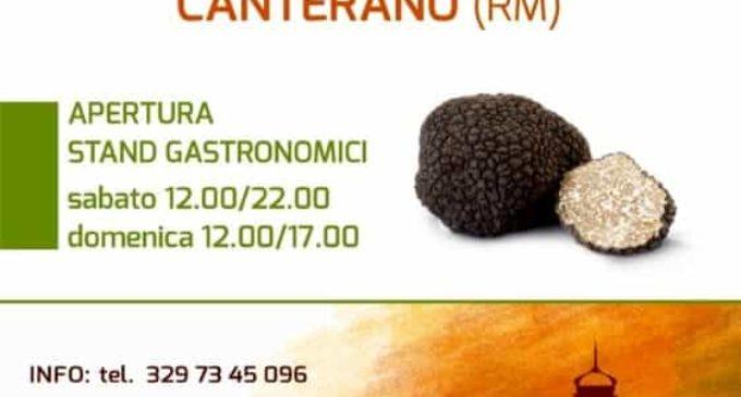Sagra del Tartufo, a Canterano (RM) i profumi del bosco nel piatto – 12/20 ottobre