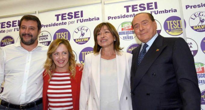 Elezioni Umbria: Tesei Presidente – Crollo del centrosinistra