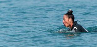 Bracciano: Oggi, Virginia Tortella compirà la traversata a nuoto del Lago di Bracciano a stile rana,