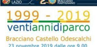 20°Anniversario del Parco Regionale Bracciano – Sabato, 23 novembre ore 9:00 – Ingresso libero