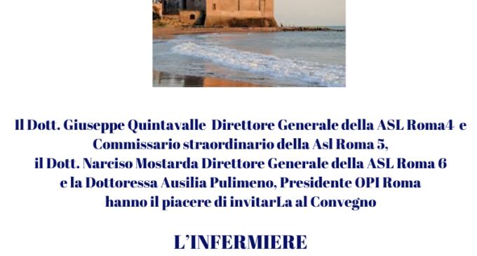 """Oggi, 9 novembre """"L'infermiere di famiglia"""" iniziativa Asl al Castello di Santa Severa"""
