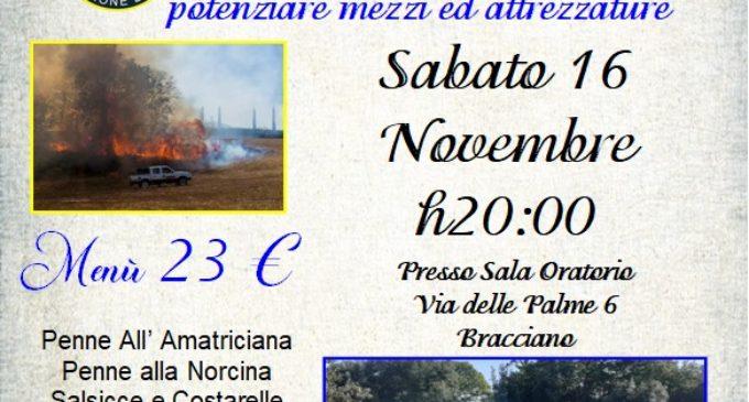 "A. V. A. B. Bracciano, presenta ""Cena raccolta fondi"" Sabato 16 novembre"