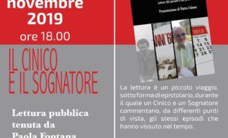 """Manziana: """"Il Cinico e il sognatore"""" 19 e 26 novembre 2019"""