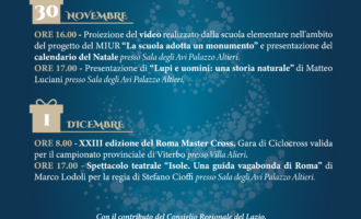 Oriolo Romano pronta per il Natale 2019 Dal 30 novembre al 6 gennaio una serie di appuntamenti imperdibili
