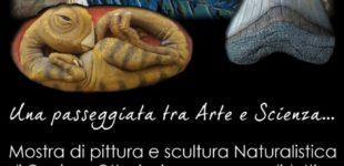 """Cerveteri, in Piazza Risorgimento la mostra di pittura e scultura """"Animali Fantastici"""""""