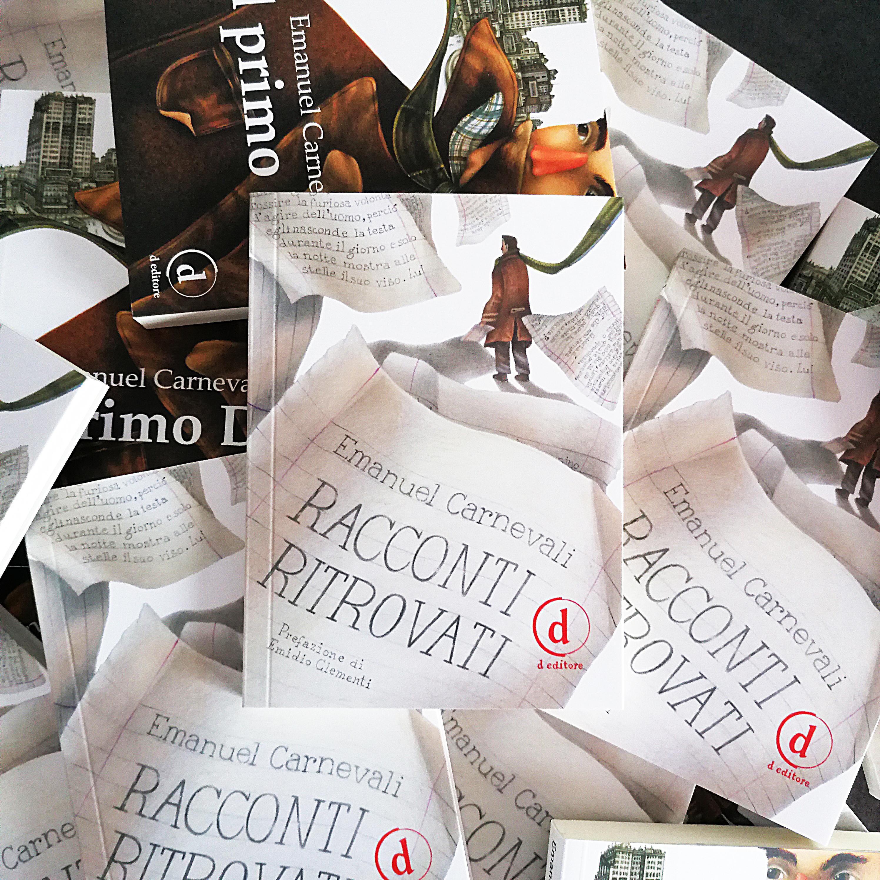 """Ladispoli: """"Racconti Ritrovati"""" di Emanuel Carnevali Sabato 16 Novembre - L'agone"""
