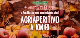 A Roma, Agriaperitivo a km0 Sabato 9 novembre e Domenica 10 novembre