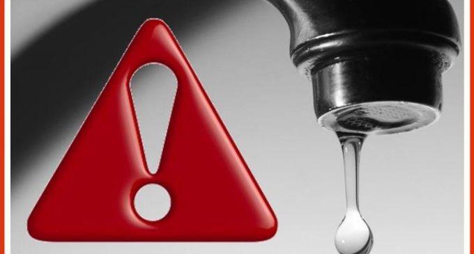 Ladispoli: Sospensione dell'erogazione idrica a Monteroni il 2 dicembre