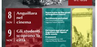 "Anguillara: ""Mille volte cinema"" 8/9/10 novembre"