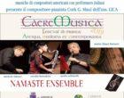 Cerveteri, CaereMusica incanta all'esordio. Domani il Namaste Ensemble