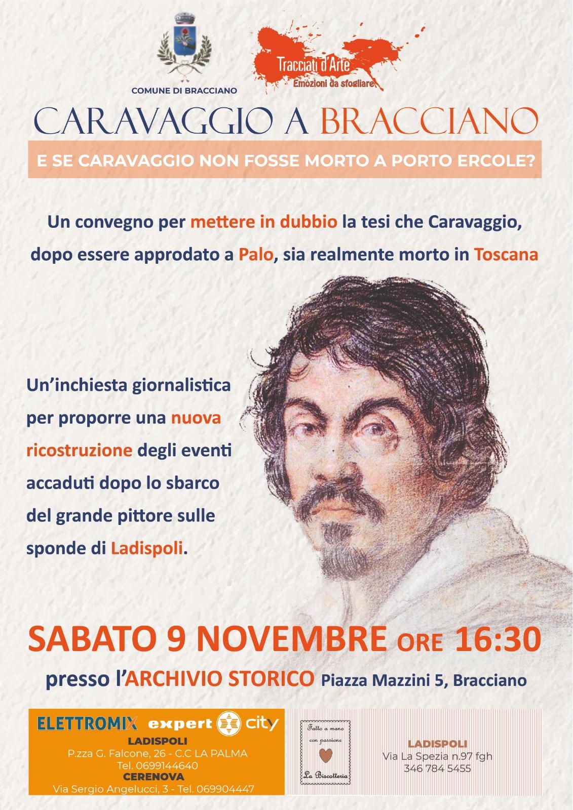 """""""Oggi a Bracciano convegno sull'ipotesi che Caravaggio possa aver vissuto le ultime ore a Palo Laziale e non a Porto Ercole"""" - L'agone"""