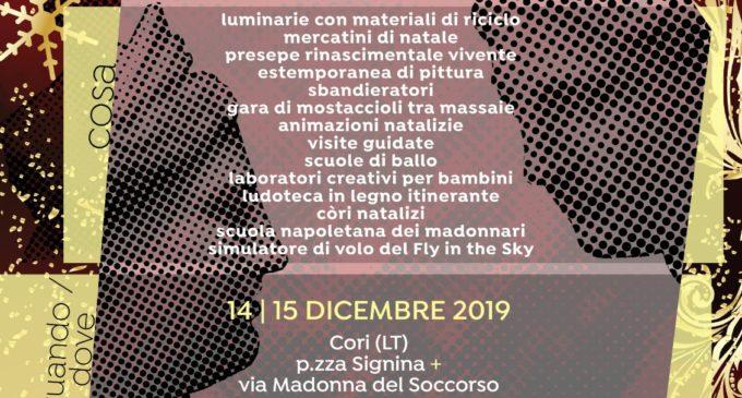 III Natale Insieme a Cori, il 14 e 15 Dicembre, piazza Signina e via Madonna del Soccorso