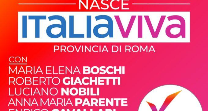 Domani a Guidonia, la presentazione di Italia Viva