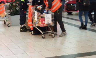 Prot. Civile Bracciano: ieri la raccolta alimentare per Amatrice