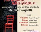 """Il 4 Gennaio al teatro di Canale Monterano: """"Tre uomini e una sedia"""""""