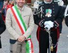 Oriolo saluta il maresciallo maggiore Alessandro Bitti