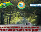 """Il Comune di Manziana vara il progetto """"Patto con il Clima"""""""