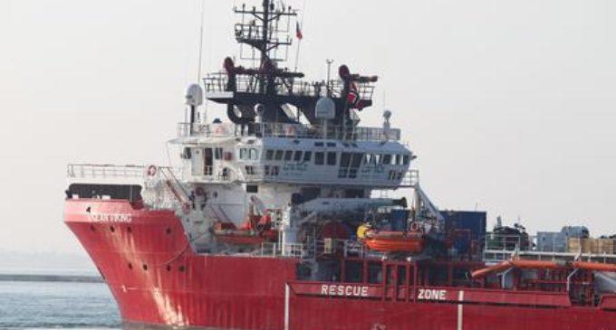 Migranti: La Ocean Viking sbarcherà 403 migranti a Taranto