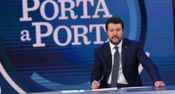 """PD contro Bruno Vespa: Lanciato uno spot pro Salvini a """"Porta a Porta"""""""