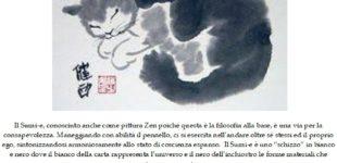 """A Trevignano Romano il Corso """"Sumi-e pittura e meditazione"""" con Kinuko a Saralo il 7 febbraio e 8 marzo dalle ore 15 alle ore 17"""