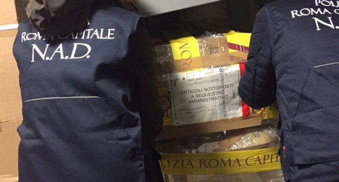 """CITTA' METROPOLITANA DI ROMA: OPERAZIONE """"SAFE BAG"""" CONTRASTO ALLA PLASTICA FUORI LEGGE. CONTROLLI E MULTE NEI SUPERMERCATI"""