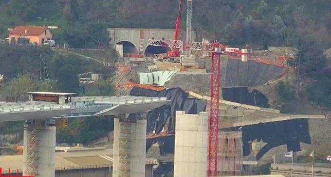 """Genova: """"Il primo impalcato da 100 metri del nuovo ponte Per Genova sarà varato nella settimana fra il 31 gennaio e l'8 febbraio"""