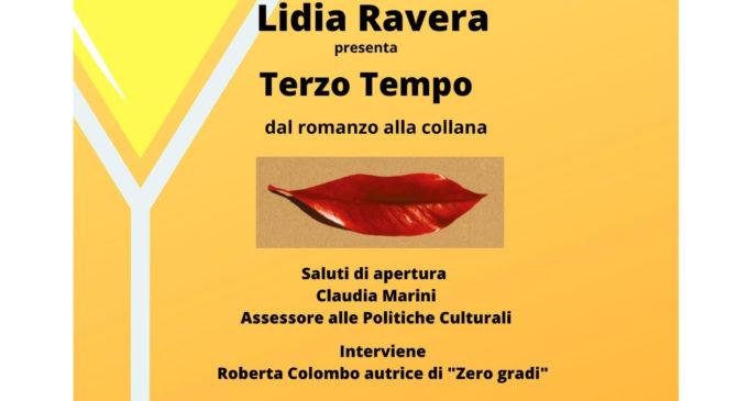 """Il 23 gennaio, Lidia Ravera presenta """"Terzo Tempo"""" ore 16 presso Biblioteca comunale di Bracciano"""