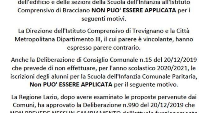 """""""A volte ritornano""""comunicato congiunto dei consiglieri comunali di Bracciano Mauro, Tellaroli e Persiano"""