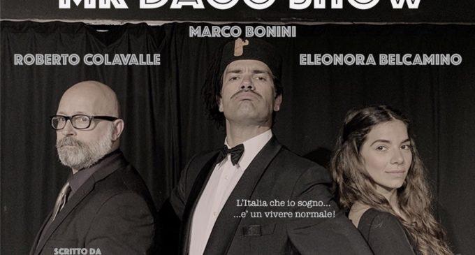 """IN SCENA AL PETROLINI """"MR. DAGO SHOW"""" PER CELEBRARE IL GIORNO DELLA MEMORIA"""