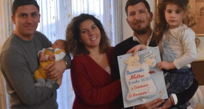 Si chiama Matteo il primo nato a Ladispoli del 2020