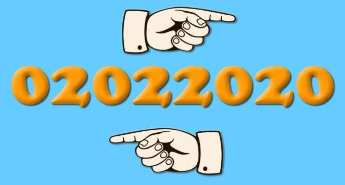 """Oggi è il 2/02/2020 """"Non accadeva da anni una data palindroma"""""""