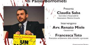 """In biblioteca """"Un morto ogni tanto.  La mia battaglia contro la mafia invisibile""""  di Paolo Borrometi"""