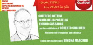 Roma PD Candidato Gualtieri, giovedì 20 febbraio ore 17:30 presso Teatro De Servi