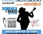 """""""Premio Monterano"""" Domenica, 1 marzo ore 21 presso Teatro Canale Monterano"""