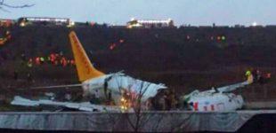 Instanbul: Incidenteaereo e tragedia sfiorata all'aeroporto Sabiha Gokcen