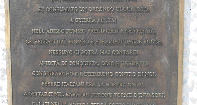 Ladispoli ricorda i martiri delle Foibe