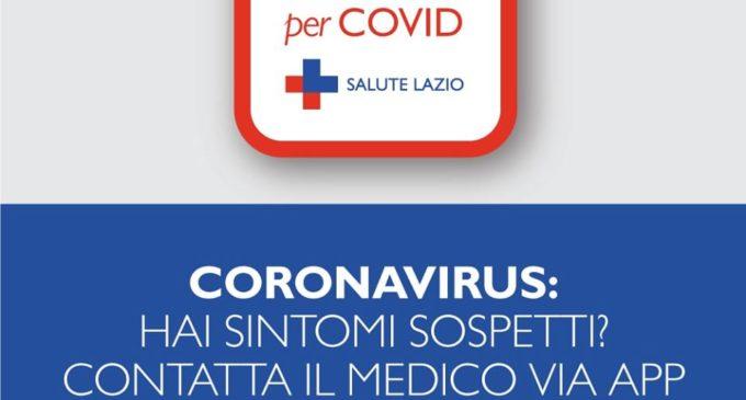 E' già attiva la nuova APP Lazio Doctor per Covid messa a disposizione dalla Regione Lazio.