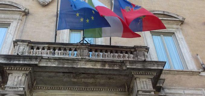 Roma Zotta, Bandiere a mezz'asta per le vittime da Coronavirus