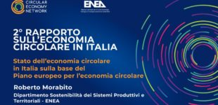 Secondo rapporto sull'economia Circolare in Italia