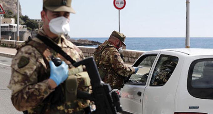 Coronavirus, Esercito e Vigili del fuoco in campo per controllo sulla popolazione