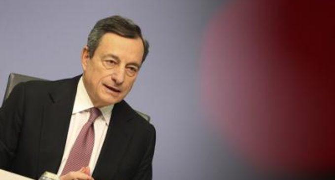 """Coronavirus, Draghi: """"Siamo in guerra, profonda recessione"""""""