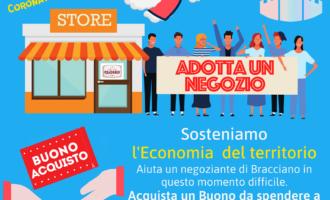 """Bracciano, """"Adotta un negozio"""" iniziativa a favore di commercianti e ristoratori"""