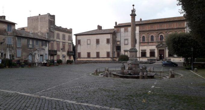 Oriolo: piazza Claudia chiusa per Coronavirus