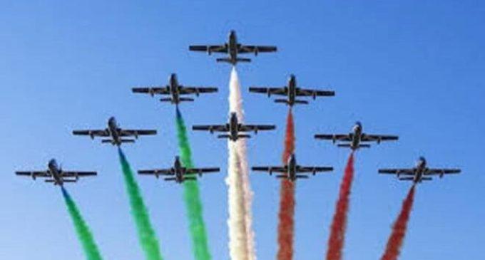 L'Italia vista dalle Frecce tricolori: la seconda tappa del viaggio