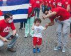 Coronavirus in Lombardia: tornano a casa i medici cubani; il saluto al bimbo che li ha sostenuti
