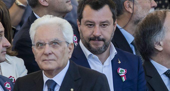 """Salvini scrive a Mattarella : """"Contro di me un'offensiva, mi venga garantito un processo giusto"""""""